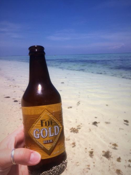 Fiji gold beer